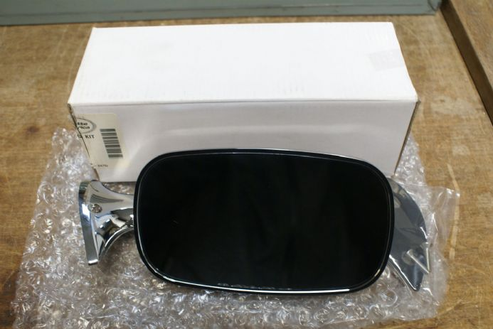 C3 75-79 Corvette,Outside Mirror,Lh W/Mounting Kit,X2524,New